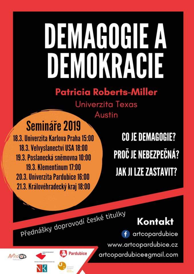 Demagogie a demokracie.